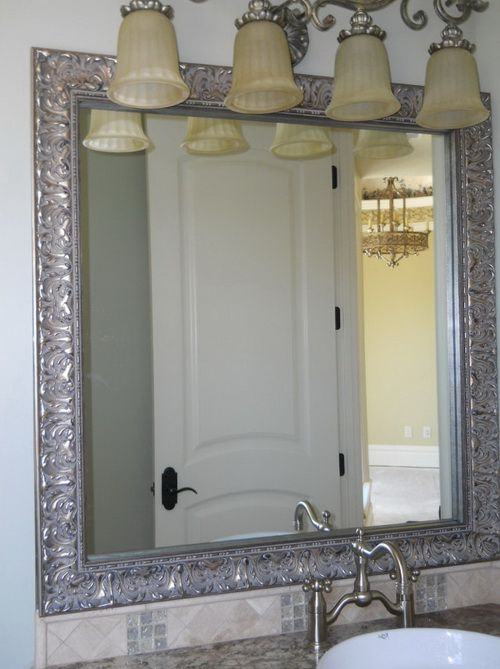 Brushed Nickel Framed Mirror 15 Misconception About