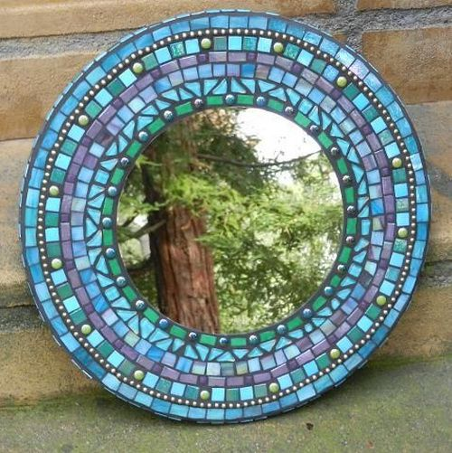 Mosaic Glass Mirror Inovation Amp Decorations All Mirrors