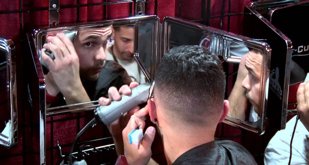 Self haircut mirror inovation decorations all mirrors self haircut mirror photo 7 solutioingenieria Images
