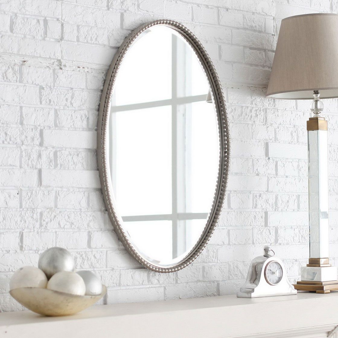 Bathroom oval mirrors - add beauty and elegance to your bathroom ...