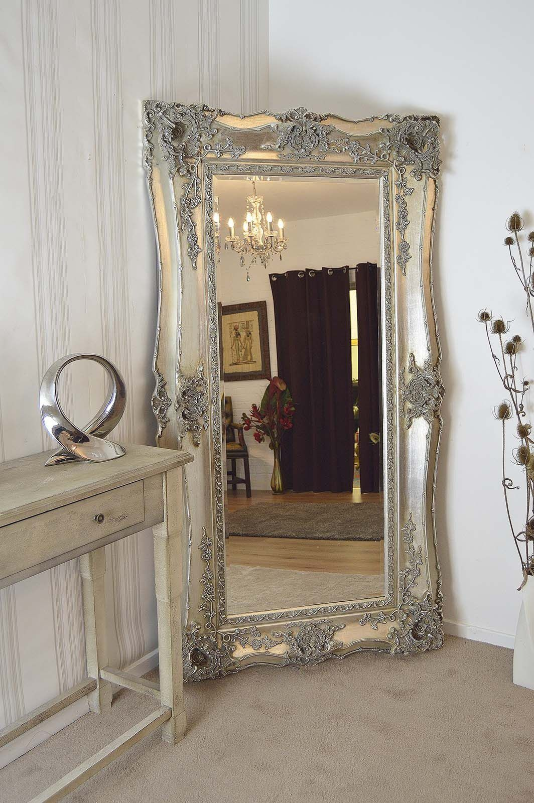 Extra large mirrors 10 tips for choosing inovation for Silver long mirror