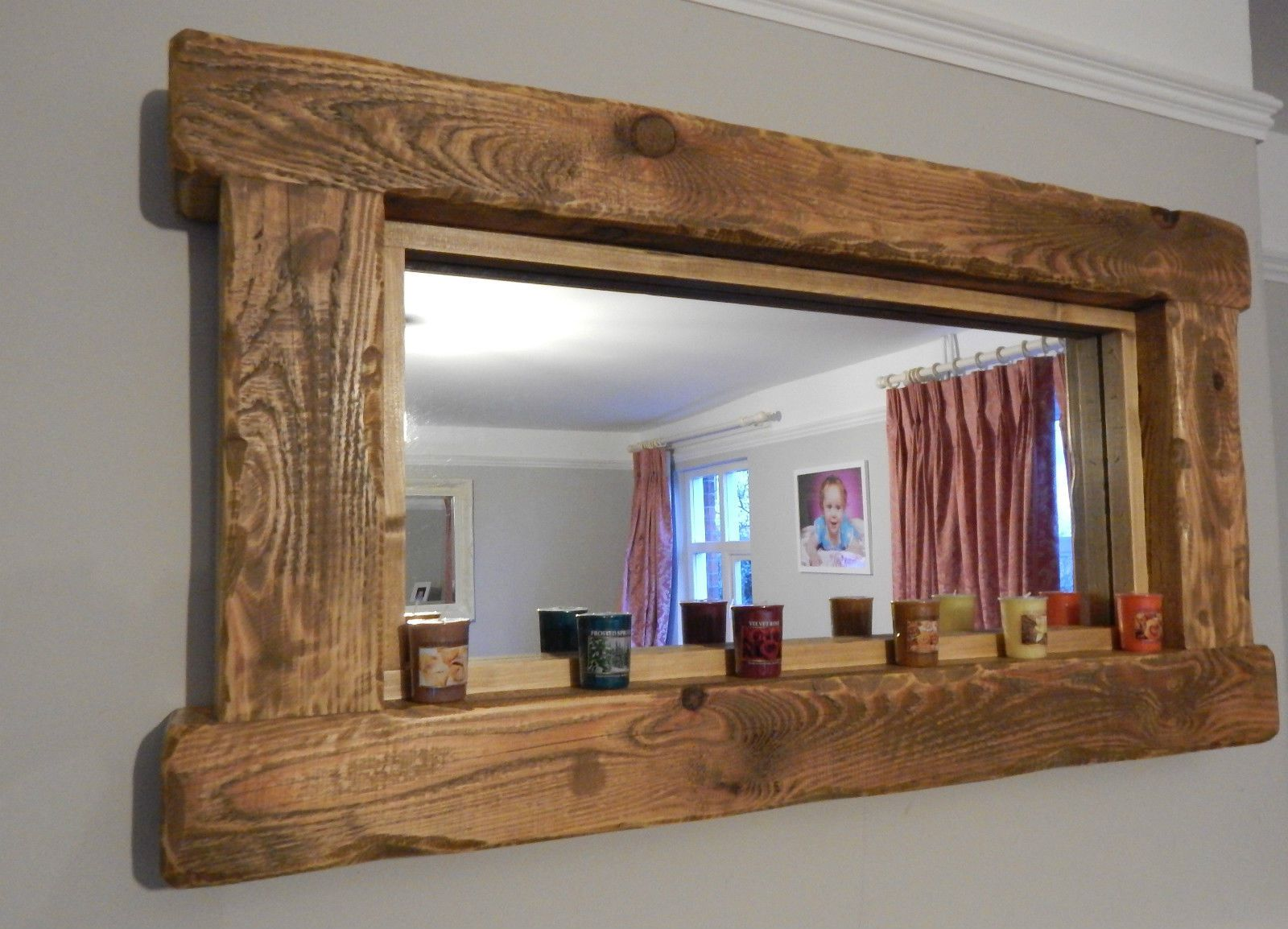 Wooden mirror frame 10 reasons to buy inovodecor styles jeuxipadfo Gallery
